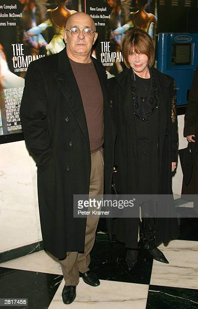 Actress Lee Grant and husband Joe Feury attend the VIP screening of the Sony Pictures Classics film The Company at the Paris Theatre December 16 2003...