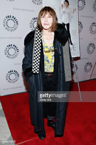 Actress Lee Grant attends the Elaine Stritch Shoot Me screening at Paley Center For Media on February 19 2014 in New York City