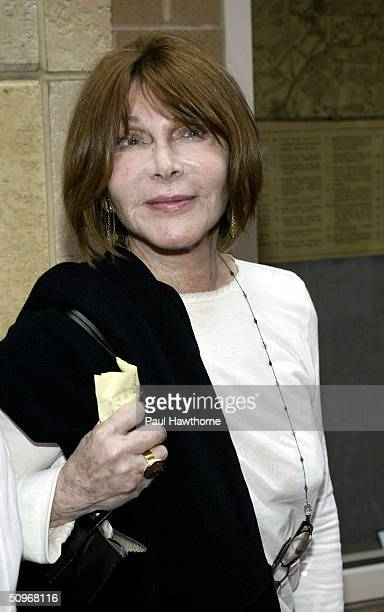 Actress Lee Grant attends the premiere of The Hunting of The President at NYU's Skirball Center for the Performing Arts June 16 2004 in New York City