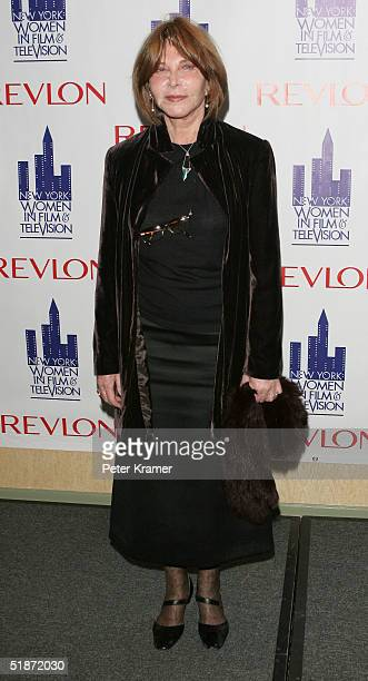 Actress Lee Grant attends the Women in Film and Televisions Annual Muse Awards at the New York Hilton Hotel on December 16 2004 in New York City