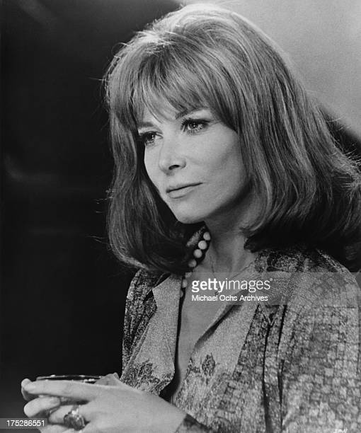 Actress Lee Grant poses for a portrait for the 1974 Hemisphere Pictures film 'The Internecine Project'.