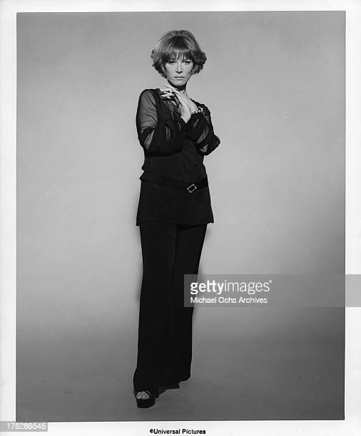 Actress Lee Grant poses for a portrait for the 1977 Universal Pictures film 'Airport '77'