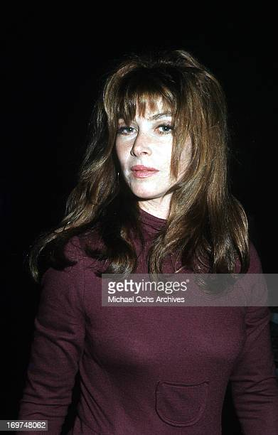 Actress Lee Grant poses for a portrait in circa 1971