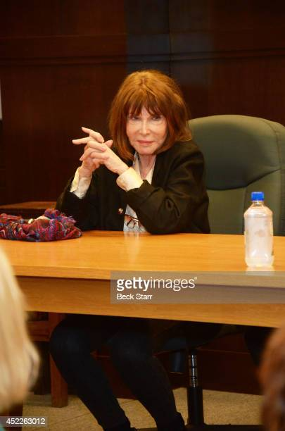 "Actress Lee Grant signs and discusses her new book ""I Said Yes To Everything"" at Barnes & Noble bookstore at The Grove on July 16, 2014 in Los..."