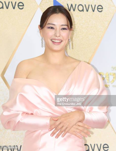 Actress Lee Ha-Nee attends a photo call of 2019 SBS Drama Awards at SBS Prism Tower on December 31, 2019 in Seoul, South Korea.