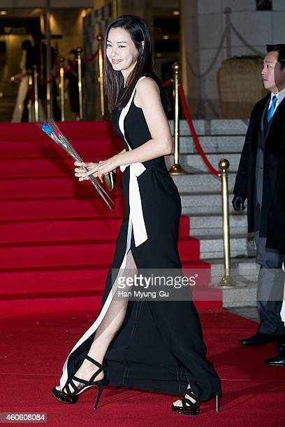 Actress Lee Ha-Nee attends The 35th Blue Dragon Film Awards at Sejong Center on December 17, 2014 in Seoul, South Korea.