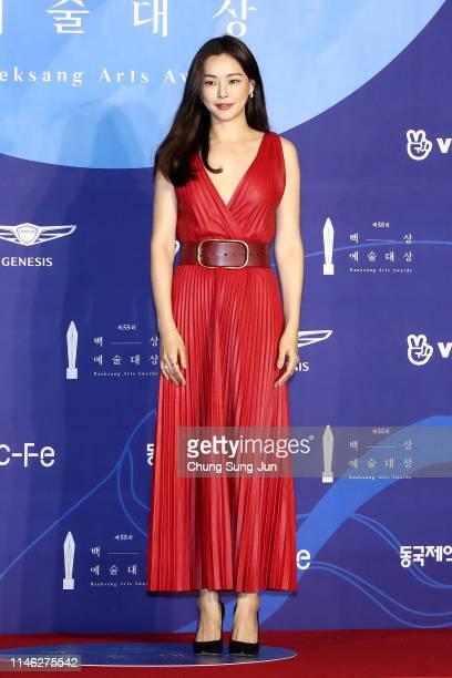 Actress Lee Ha-nee attends the 55th Baeksang Arts Awards at COEX D Hall on May 01, 2019 in Seoul, South Korea.