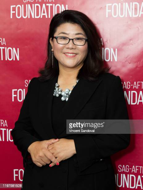 Actress Lee Jung Eun attends SAGAFTRA Foundation Conversations with Parasite at SAGAFTRA Foundation Screening Room on January 04 2020 in Los Angeles...