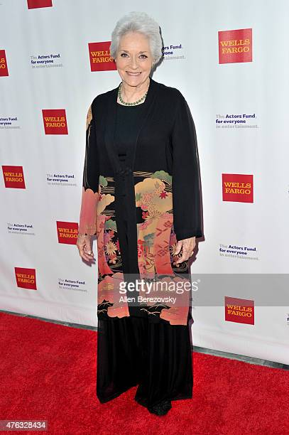 Actress Lee Meriwether attends The Actors Fund's 19th Annual Tony Awards viewing party at Skirball Cultural Center on June 7, 2015 in Los Angeles,...