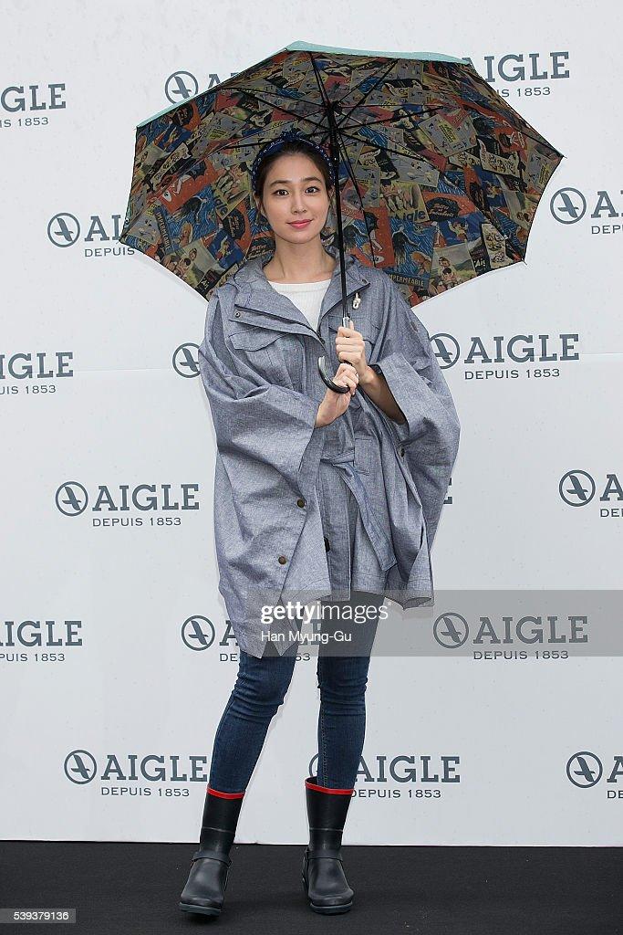 Lee Min-Jung Autograph Session For AIGLE