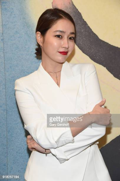 Actress Lee MinJung attends the Michael Kors fashion show during New York Fashion Week at Vivian Beaumont Theatre on February 14 2018 in New York City