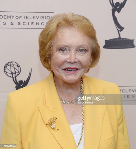 Actress Lee Phillip Bell attends The Academy Of Television Arts Sciences' Daytime Programming Peer Group's Daytime Emmy Nominees Cocktail Reception...