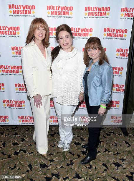 Actress Lee Purcell Hollywood Museum president Donelle Dadigan and actress Victoria Paige Meyerink attend a screening and QA for the documentary The...