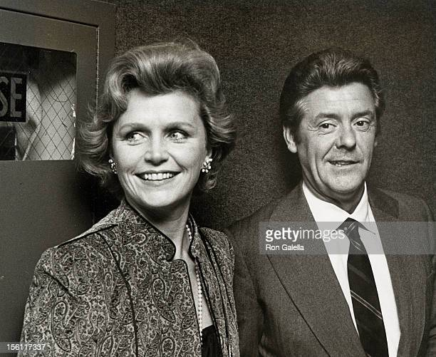 Actress Lee Remick and husband Williams Gowans attending the premiere of 'The Competition' on November 23 1980 at Loew's Cinema in New York City New...