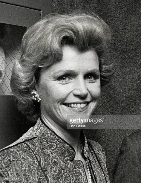 Actress Lee Remick attending the premiere of 'The Competition' on November 23 1980 at Loew's Cinema in New York City New York