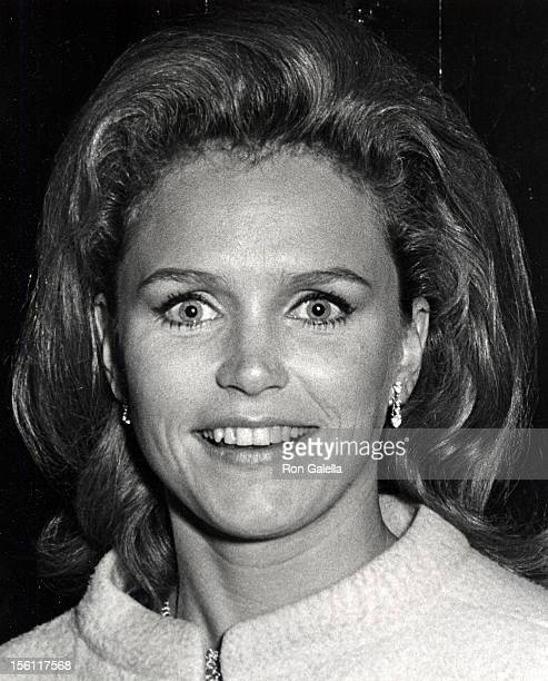 Actress Lee Remick attending the premiere party for 'Midsummer Night's Dream' on April 17 1967 at O'Neal's Restaurant in New York City New York
