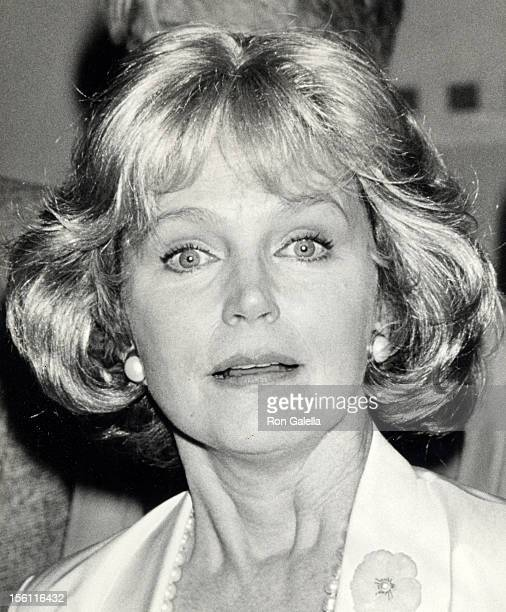 Actress Lee Remick attending 'Women In Film Awards Luncheon' on June 8 1990 at the Century Plaza Hotel in Century City California