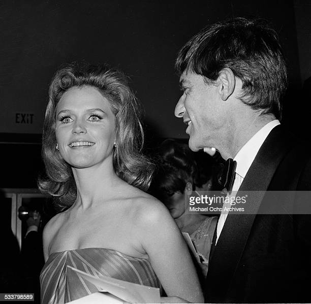 Actress Lee Remick attends an event in Los AngelesCA