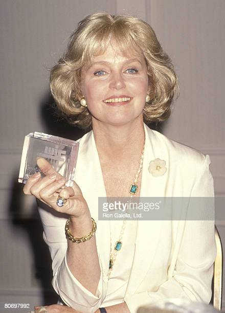 Actress Lee Remick attends the 14th Annual Women in Film Crystal Awards on June 8 1990 at Century Plaza Hotel in Los Angeles California
