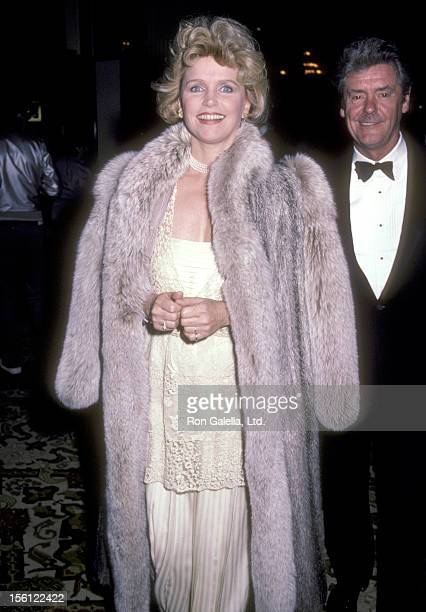 Actress Lee Remick attends the '42nd Street' Opening Night Performance on February 10 1984 at Shubert Theatre in Century City California