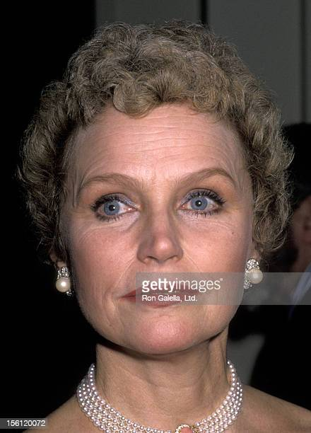 Actress Lee Remick attends The Academy of Television Arts and Sciences Honors Angela Lansbury on February 22 1990 at Beverly Hilton Hotel in Beverly...