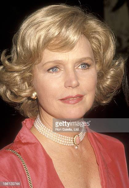 Actress Lee Remick attends the First Annual Vital Options Awards Honoring Linda Otto on June 13 1990 at Century Plaza Hotel in Los Angeles California