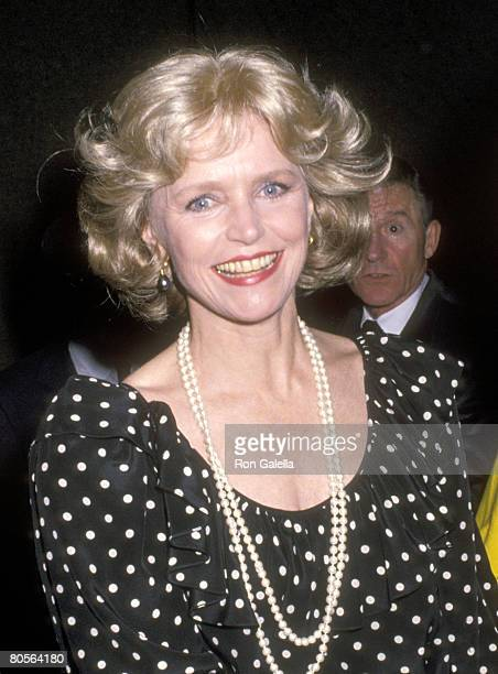 Actress Lee Remick attends the Party for Roddy McDowall's New Book 'Double Exposure Take Two A Gallery of the Celebrated With Commentary by the...