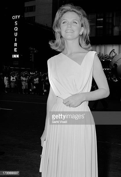 Actress Lee Remick posing for a photo on July 11965 in New York New York
