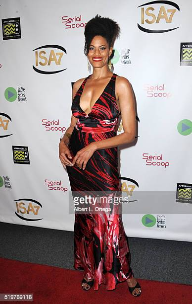 Actress Lee Sherman at the 7th Annual Indie Series Awards held at El Portal Theatre on April 6 2016 in North Hollywood California