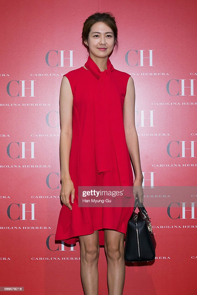"Lee Yo-Won Appears At ""CH Carolina Herrera"" Lotte Department"