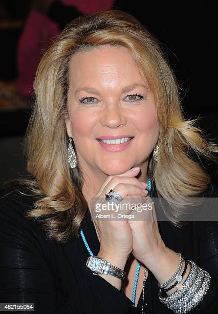 Actress Leeann Hunley at The Hollywood Show held at The Westin Hotel LAX on January 24 2015 in Los Angeles California