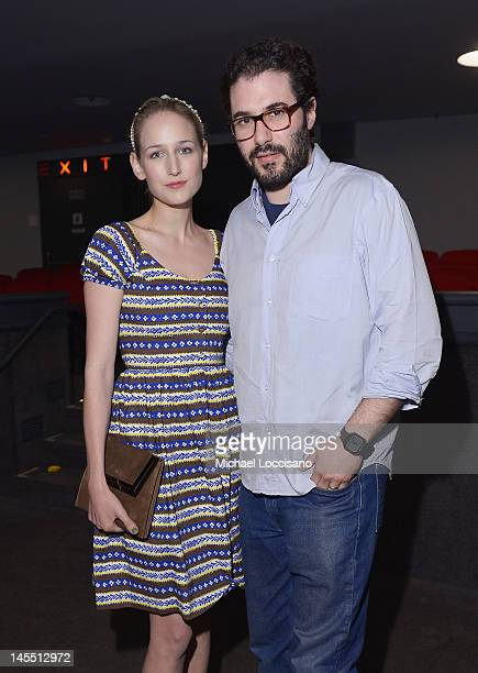 Actress Leelee Sobieski and Adam Kimmel attend the HBO Documentary Screening of Marina Abramovic The Artist Is Present at MoMA on May 31 2012 in New...