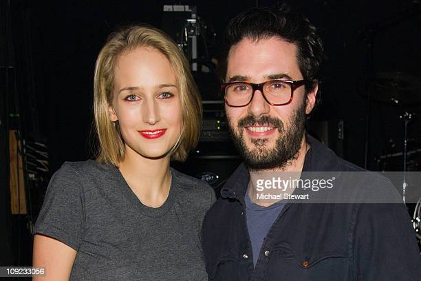 Actress Leelee Sobieski and designer Adam Kimmel attend the Adam Kimmel x Carhartt party at Don Hill's on February 16 2011 in New York City