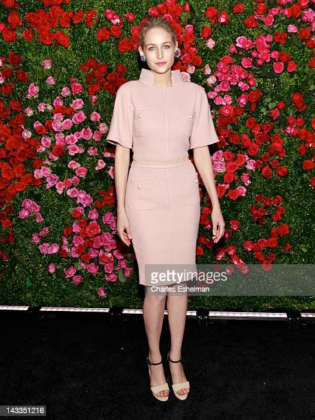 Actress Leelee Sobieski attends the 7th Annual Chanel Tribeca Film Festival Artists Dinner at The Odeon on April 24 2012 in New York City