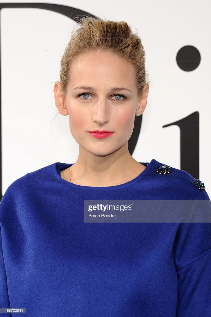 Actress Leelee Sobieski attends the Christian Dior Cruise 2015 Show on May 7, 2014 in Brooklyn, New York City.