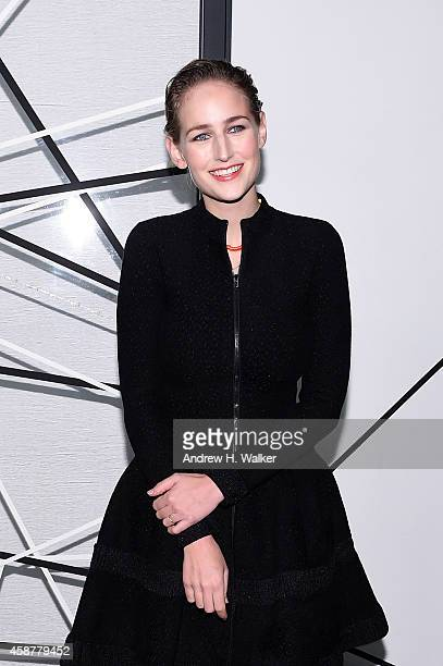 Actress Leelee Sobieski attends The Museum of Modern Art's 2014 Film Benefit Honoring Alfonso Cuaron at The Museum of Modern Art on November 10 2014...