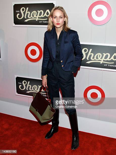 Actress Leelee Sobieski attends The Shops At Target Launch Part on May 1 2012 in New York United States