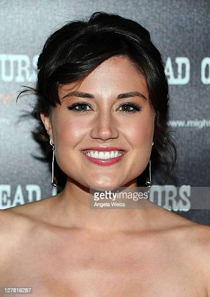 Actress Leena Huff arrives at the world premiere of 'Head Over Spurs In Love' at Majestic Crest Theatre on March 24, 2011 in Los Angeles, California.