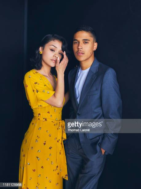 Actress Leidi Gutierrez and actor Benny Emmanuel poses for a portrait on May 21 2019 in Cannes France