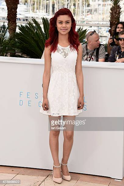 Actress Leidi Gutierrez attends the Las Elegidas Photocall during the 68th annual Cannes Film Festival on May 18 2015 in Cannes France