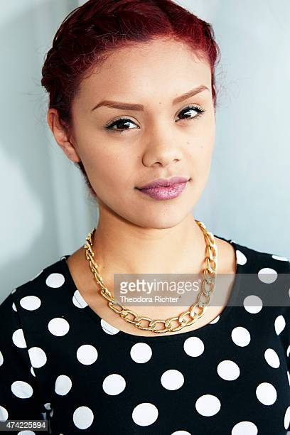 Actress Leidi Gutierrez is photographed on May 18 2015 in Cannes France