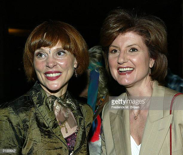 Actress Leigh Taylor Young and Arianne Huffington attends the American Cinematheque's Mods and Rockers Film Festival screening of the film I Love You...