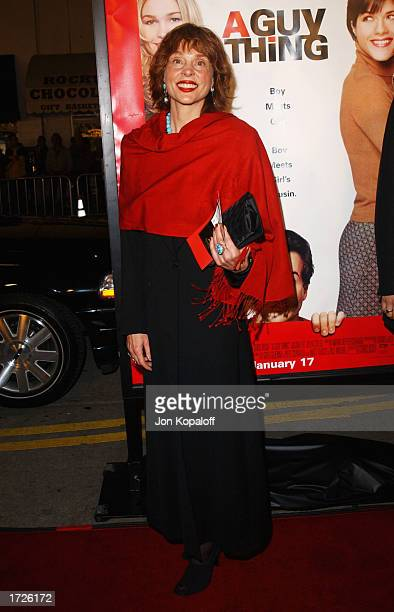 Actress Leigh TaylorYoung attends the premiere of A Guy Thing at Mann's Bruin Theatre on January 14 2003 in Westwood California