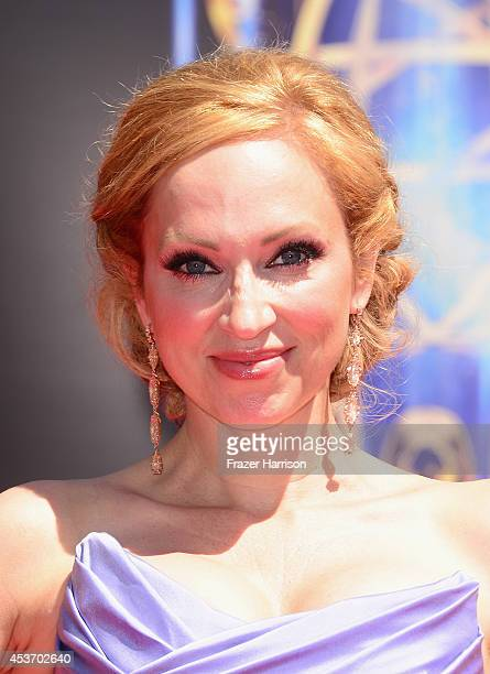 Actress LeighAllyn Baker attends the 2014 Creative Arts Emmy Awards at Nokia Theatre LA Live on August 16 2014 in Los Angeles California