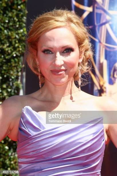 Actress LeighAllyn Baker attends the 2014 Creative Arts Emmy Awards held at the Nokia Theatre LA Live on August 16 2014 in Los Angeles California