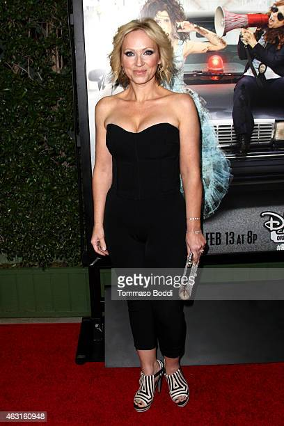 Actress LeighAllyn Baker attends the Disney Channel Original Movie 'Bad Hair Day' Los Angeles premiere held at the Walt Disney Studios on February 10...