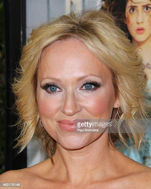 Actress LeighAllyn Baker attends the Los Angeles premiere of Bad Hair Day a Disney Channel original movie at Walt Disney Studios on February 10 2015...