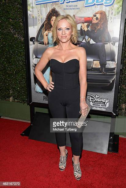 Actress LeighAllyn Baker attends the Los Angeles premiere of the Disney Channel Original Movie Bad Hair Day at Walt Disney Studios on February 10...