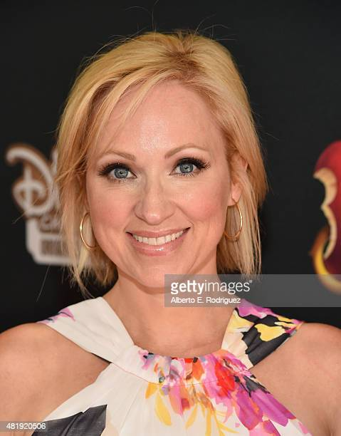 Actress LeighAllyn Baker attends the premiere of Disney Channel's Descendants at Walt Disney Studios on July 24 2015 in Burbank California