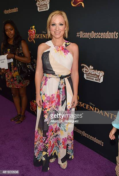 Actress LeighAllyn Baker attends the premiere of Disney Channel's 'Descendants' at Walt Disney Studios on July 24 2015 in Burbank California